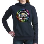 The WooFPAK Peace Sign Women's Hooded Sweatshirt