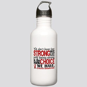 Stroke How Strong We A Stainless Water Bottle 1.0L