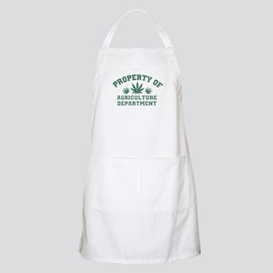 Property OF Agriculture Department Apron