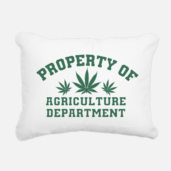 Property OF Agriculture Department Rectangular Can
