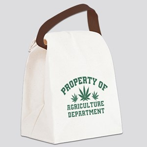 Property OF Agriculture Department Canvas Lunch Ba
