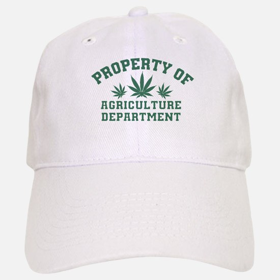 Property OF Agriculture Department Baseball Baseball Baseball Cap