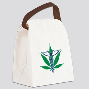 Medical Marijuana Canvas Lunch Bag