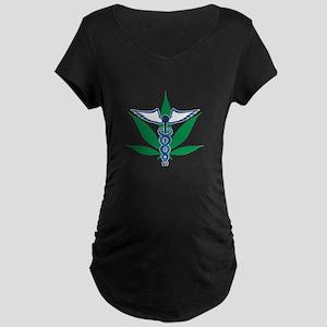 Medical Marijuana Maternity T-Shirt