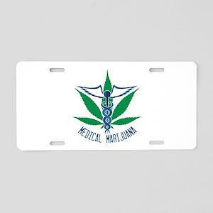 Medical Marijuana Aluminum License Plate