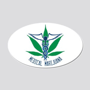 Medical Marijuana Wall Decal