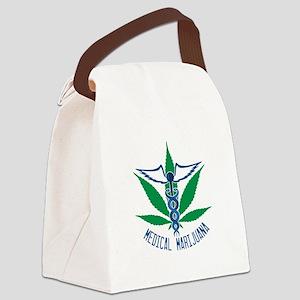 Medical Marijuana Canvas Lunch Bag