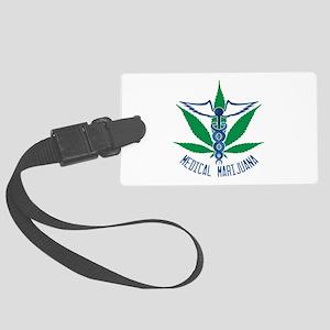 Medical Marijuana Luggage Tag