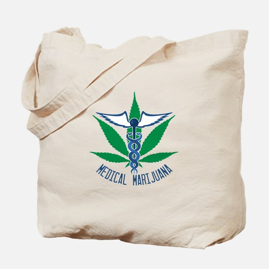 Medical Marijuana Tote Bag