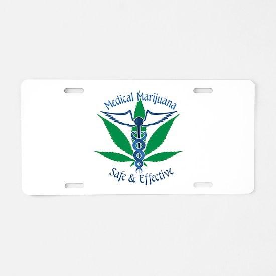 Medical Marijuana Safe & Effective Aluminum Licens