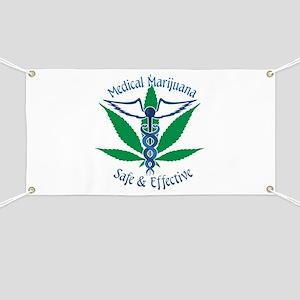Medical Marijuana Safe & Effective Banner
