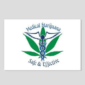 Medical Marijuana Safe & Effective Postcards (Pack