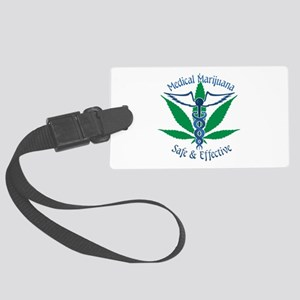 Medical Marijuana Safe & Effective Luggage Tag