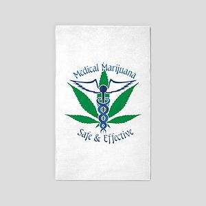 Medical Marijuana Safe & Effective 3'x5' Area Rug