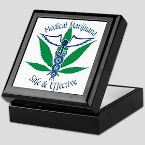 Medical Marijuana Safe & Effective Keepsake Box
