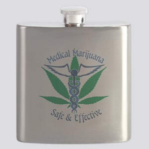 Medical Marijuana Safe & Effective Flask