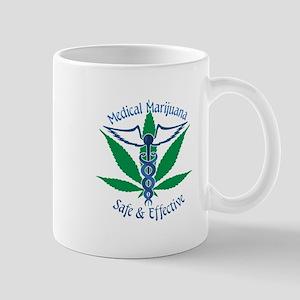 Medical Marijuana Safe & Effective Mugs