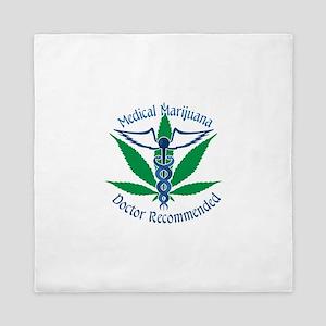 Medicla Marijuana Doctor Recommended Queen Duvet