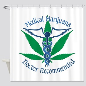 Medicla Marijuana Doctor Recommended Shower Curtai