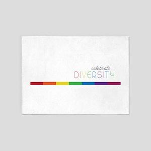Celebrate Diversity 5'x7'Area Rug