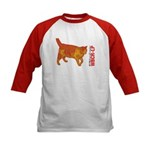 Will's Cat Kids Baseball Jersey