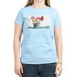 Water Color Flowers Women's Light T-Shirt