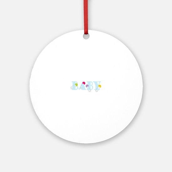 Baby Ornament (Round)