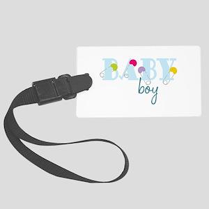 Baby Boy Luggage Tag