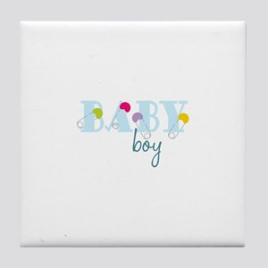 Baby Boy Tile Coaster