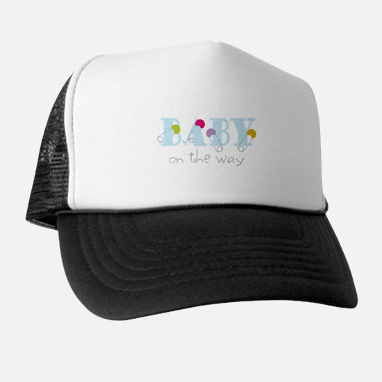 Baby On The Way Trucker Hat