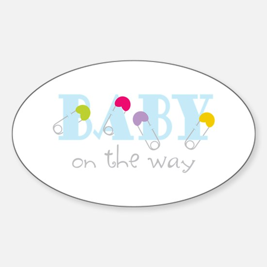 Baby On The Way Decal