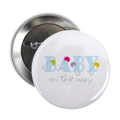 "Baby On The Way 2.25"" Button (100 pack)"