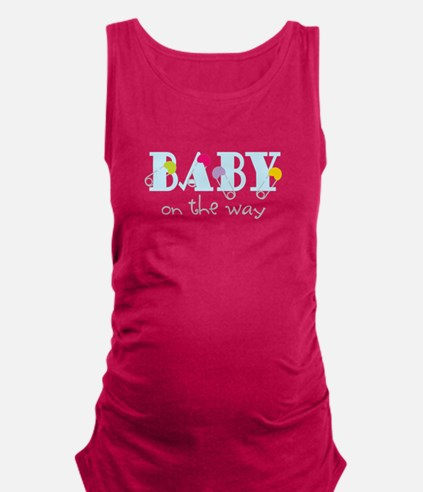 Baby On The Way Maternity Tank Top