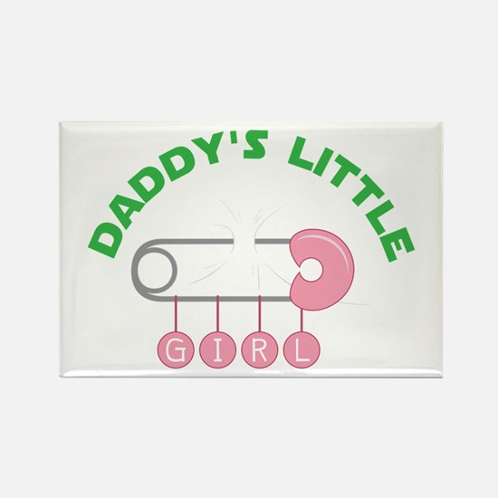 Daddys Little Girl Magnets