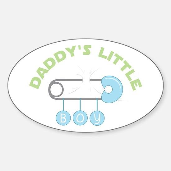 Daddys Little Boy Decal