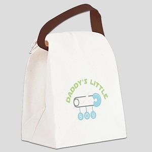 Daddys Little Boy Canvas Lunch Bag