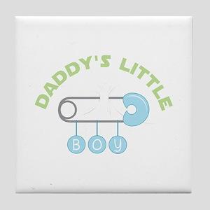 Daddys Little Boy Tile Coaster