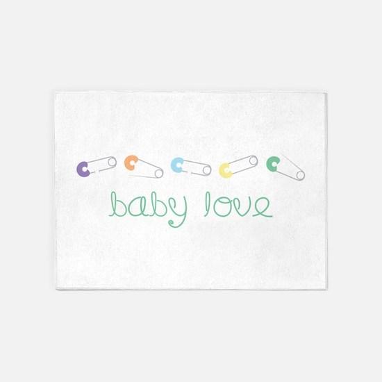 Baby Love 5'x7'Area Rug