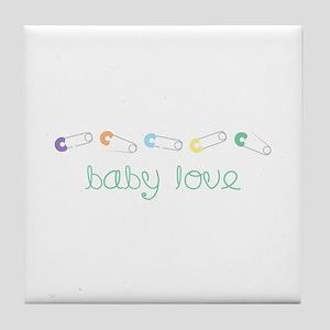 Baby Love Tile Coaster