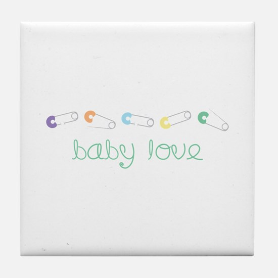 Baby Love Tile Coaster