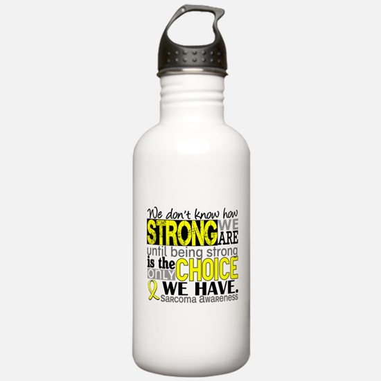 Sarcoma How Strong We Water Bottle