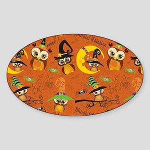 Halloween Owls 2 Sticker