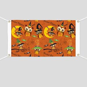 Halloween Owls 2 Banner