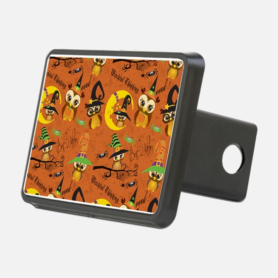 Halloween Owls 2 Hitch Cover