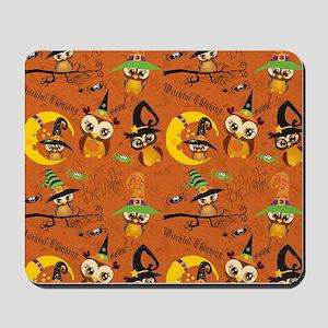 Halloween Owls 2 Mousepad
