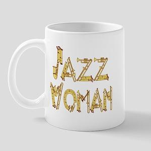Jazz woman sax Mug