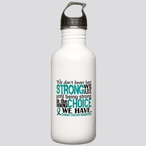 Ovarian Cancer HowStro Stainless Water Bottle 1.0L