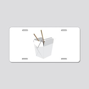 Chinese Food Aluminum License Plate
