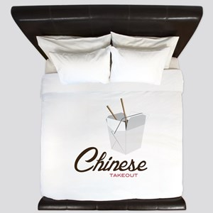 Chinese Takeout King Duvet