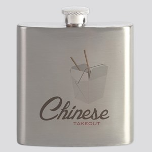 Chinese Takeout Flask